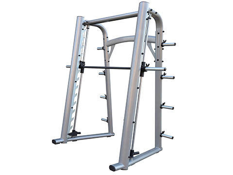 Factory photo of a Refurbished Sportgear Plate Loaded Smith Machine