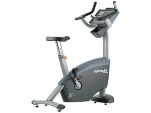 Factory photo of a Refurbished SportsArt C580U Commercial Upright Bike