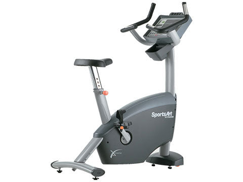 Factory photo of a Used SportsArt C580U Commercial Upright Bike