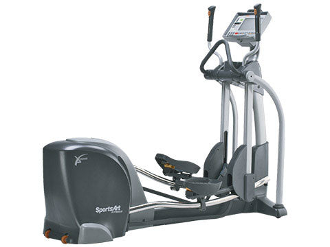 Factory photo of a Used SportsArt E880 Commercial Elliptical