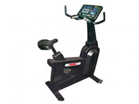 Factory photo of a Refurbished Star Trac 4300HR Upright Bike