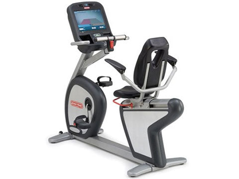 Factory photo of a Refurbished Star Trac E RBe Recumbent Bike