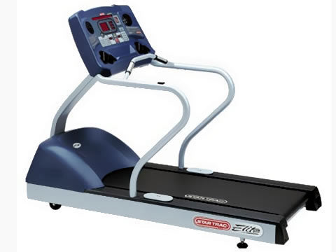 Factory photo of a Refurbished Star Trac Elite Treadmill