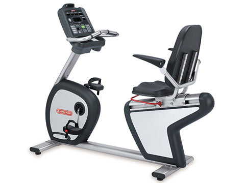 Factory photo of a Used Star Trac S RBx S Series Recumbent Bike Generation 1
