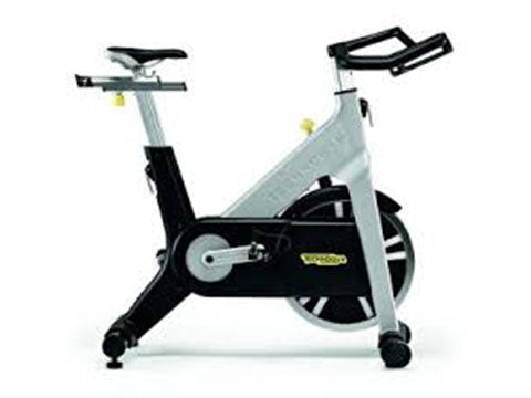 Factory photo of a Refurbished Technogym Chain Drive Indoor Group Cycling Bike