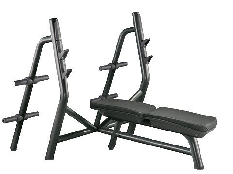 Factory photo of a Refurbished Technogym Element Olympic Flat Bench