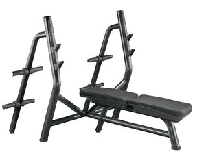 Factory photo of a Used Technogym Element Olympic Flat Bench