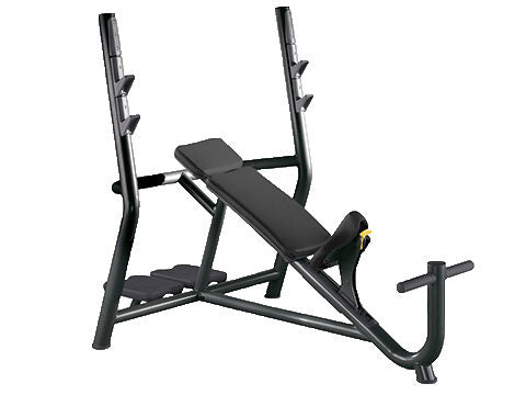 Factory photo of a Refurbished Technogym Element Olympic Incline Bench