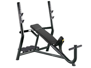 Factory photo of a Used Technogym Element Olympic Incline Bench