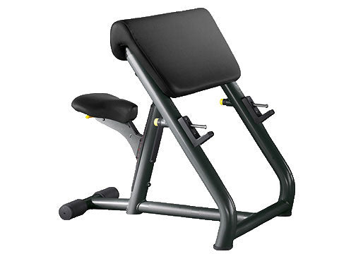 Factory photo of a Used Technogym Element Preacher Curl Bench