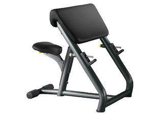 Factory photo of a Refurbished Technogym Element Preacher Curl Bench