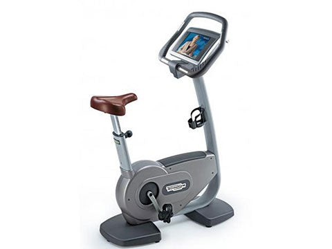 Factory photo of a Refurbished Technogym Excite 700WEB Upright Bike