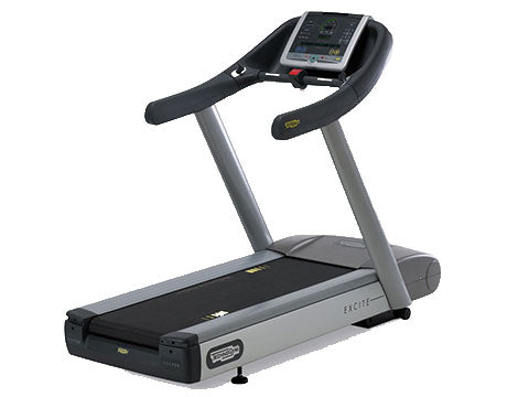 Factory photo of a Refurbished Technogym Excite Jog 700 Treadmill with Unity Display