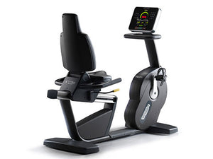 Factory photo of a Used Technogym Excite Recline Forma Recumbent Bike
