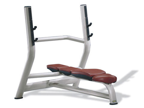Factory photo of a Used Technogym Medical Olympic Horizontal Bench