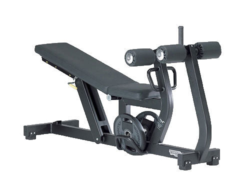 Factory photo of a Refurbished Technogym Pure Strength Adjustable Decline Bench