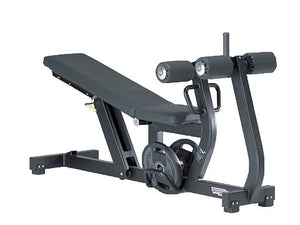 Factory photo of a Used Technogym Pure Strength Adjustable Decline Bench