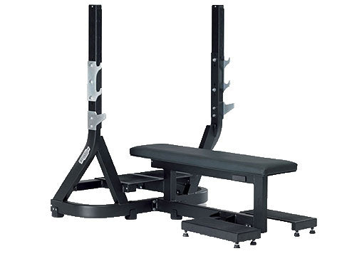 Factory photo of a Refurbished Technogym Pure Strength Olympic Flat Bench