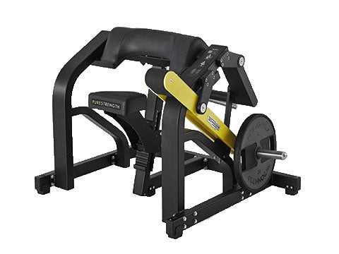 Factory photo of a Used Technogym Pure Strength Plate Loaded Bicep Curl