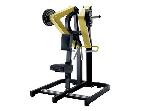 Factory photo of a Refurbished Technogym Pure Strength Plate Loaded Low Row