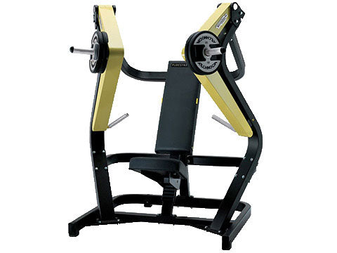 Factory photo of a Used Technogym Pure Strength Plate Loaded Shoulder Press