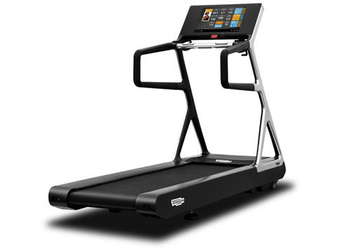 Factory photo of a Refurbished Technogym Run Personal Treadmill with Unity Display