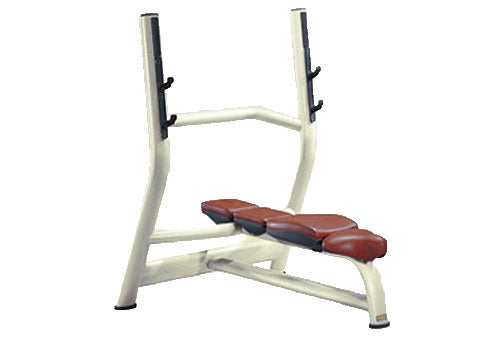Factory photo of a Refurbished Technogym Selection Olympic Flat Bench