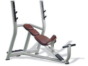 Factory photo of a Refurbished Technogym Selection Olympic Incline Bench
