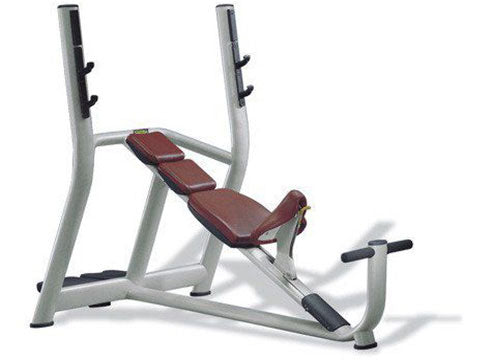 Factory photo of a Used Technogym Selection Olympic Incline Bench