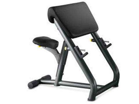Factory photo of a Refurbished Technogym Selection Preacher Curl Bench