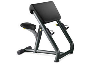 Factory photo of a Used Technogym Selection Preacher Curl Bench
