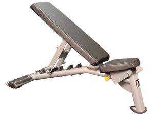 Factory photo of a Refurbished Torque Multi Adjustable Flat to Incline Bench