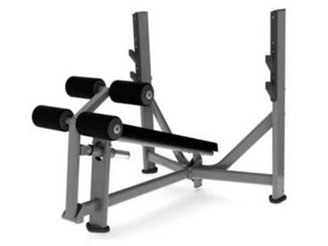 Factory photo of a New Torque Olympic Decline Bench