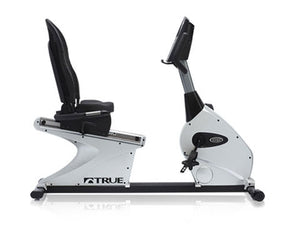 Factory photo of a Used True Fitness 750R Recumbent Bike