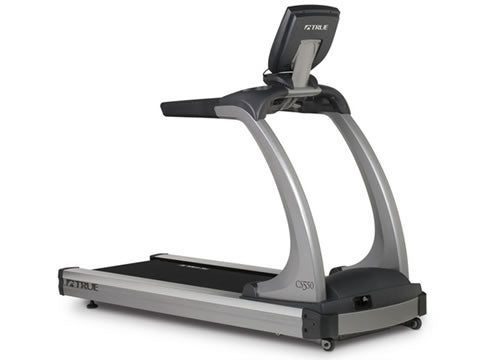 Factory photo of a Used True Fitness CS550 Commercial Treadmill