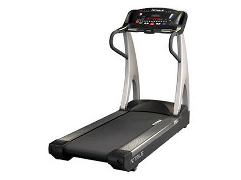 Factory photo of a Refurbished True Fitness ZTX 825 P Treadmill