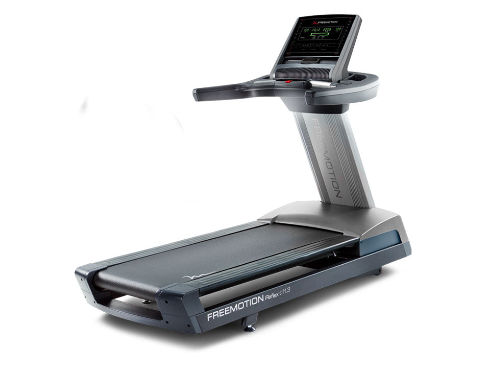 Factory photo of a Used FreeMotion Reflex T11.3 Treadmill