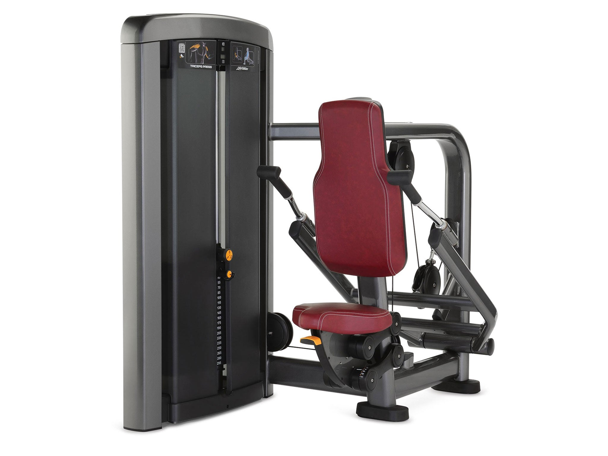 Factory image of a used Life Fitness Insignia Series Triceps Press