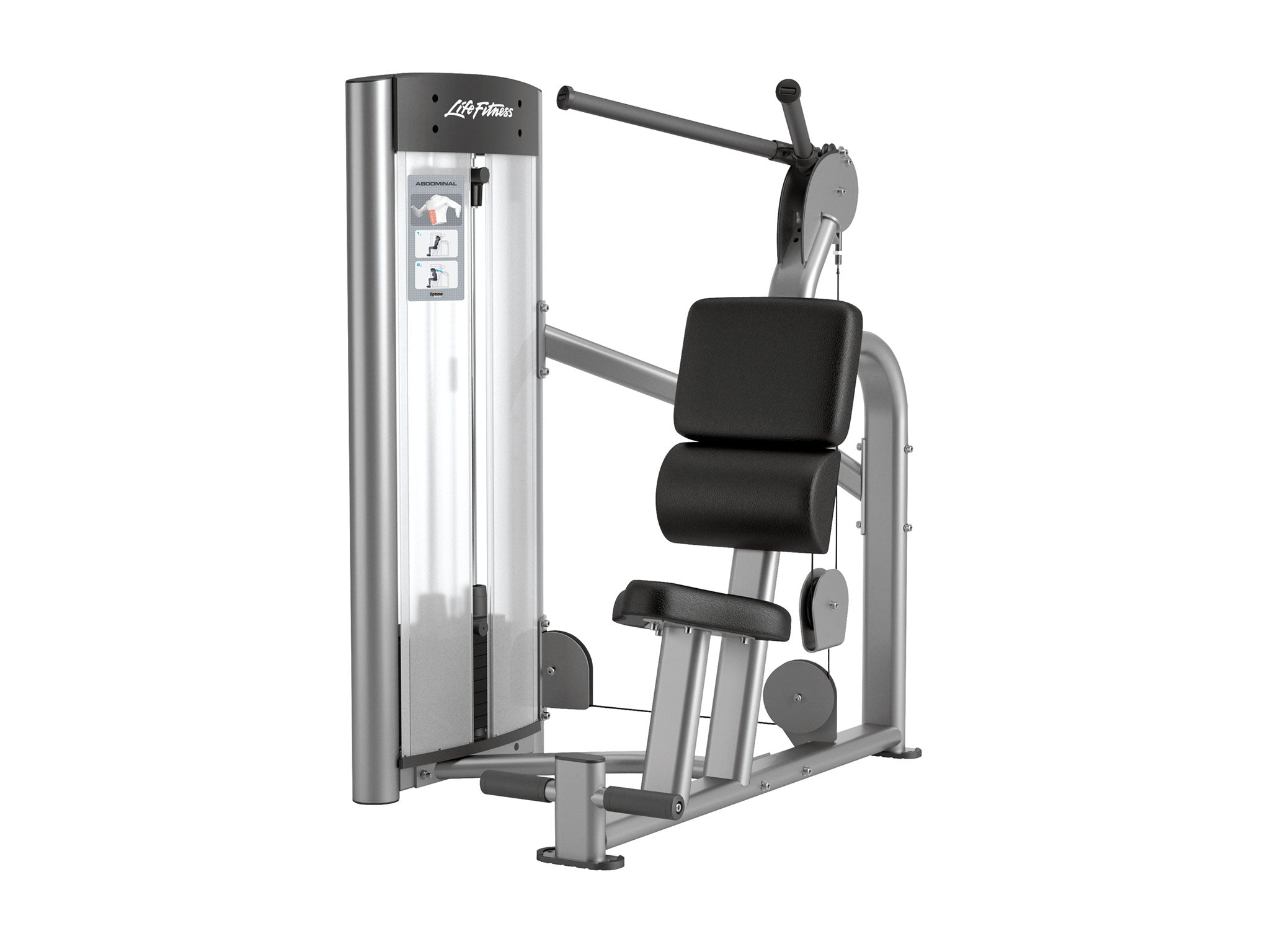 Image of a refurbished Life Fitness Optima Series Abdominal