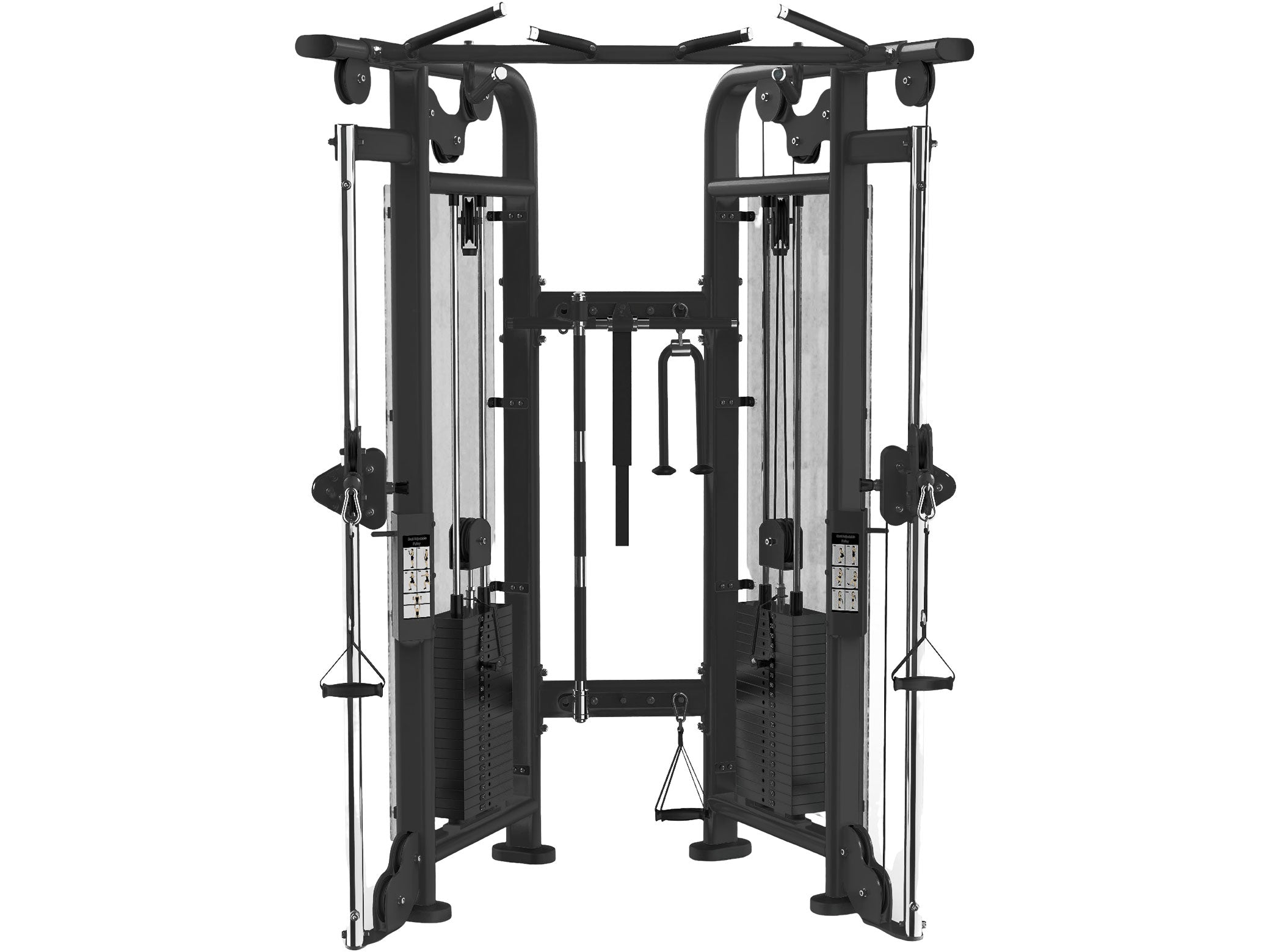 Used Sportgear Dual Adjustable Pulley Functional Trainer 7' Height