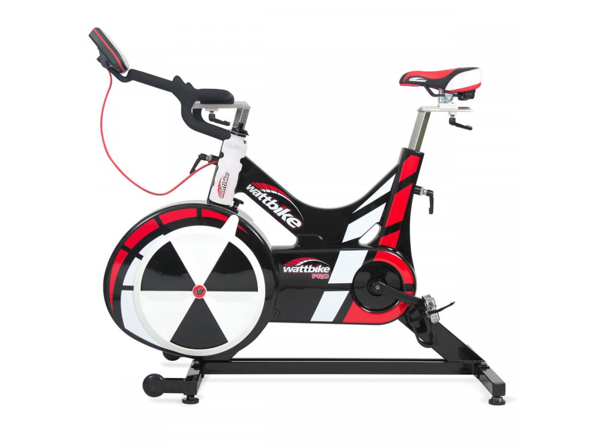 Image of a used Woodway Wattbike Trainer Group Cycling Bike