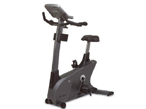 Factory photo of a Refurbished Vision Fitness E3700HRT Commercial Upright Bike