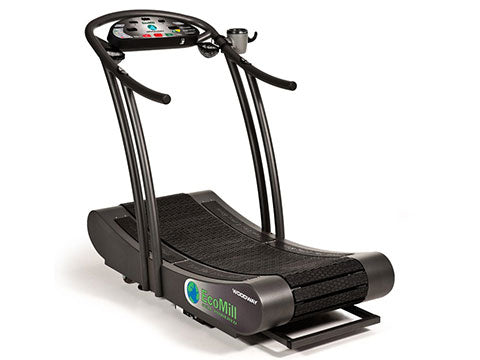 Factory photo of a Refurbished Woodway EcoMill Self Powered Treadmill