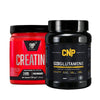 BSN Creatine DNA 216g & CNP Glutamine 500g