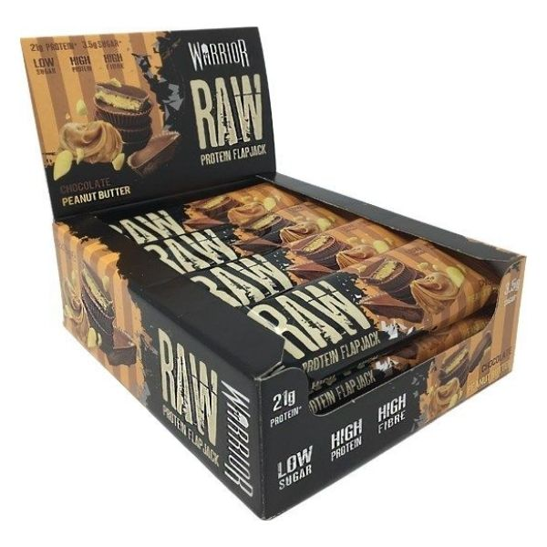Warrior Raw Protein Flapjack 12x75g