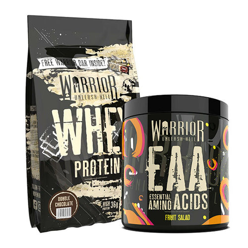 Warrior Whey Protein 1kg & EAA 360g