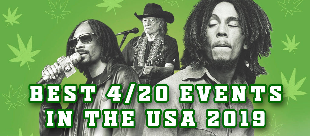 best 4/20 cannabis events in America 2019