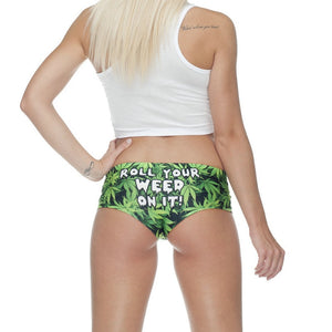 ROLL YOUR WEED Panties