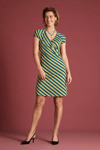 Kleid Cross Dress Daze green King Louie *New in*