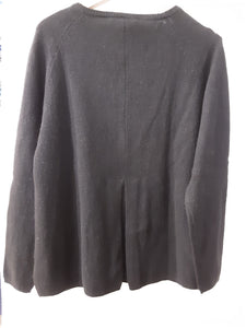Strickjacke Zobel Mansted black 100% Yak Wolle  *Sale*